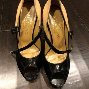 Valentino open toe pumps! Brand new! Authentic!
